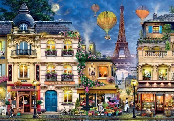 Ravensburger Evening Walk in Paris - 18000pc Jigsaw Puzzle