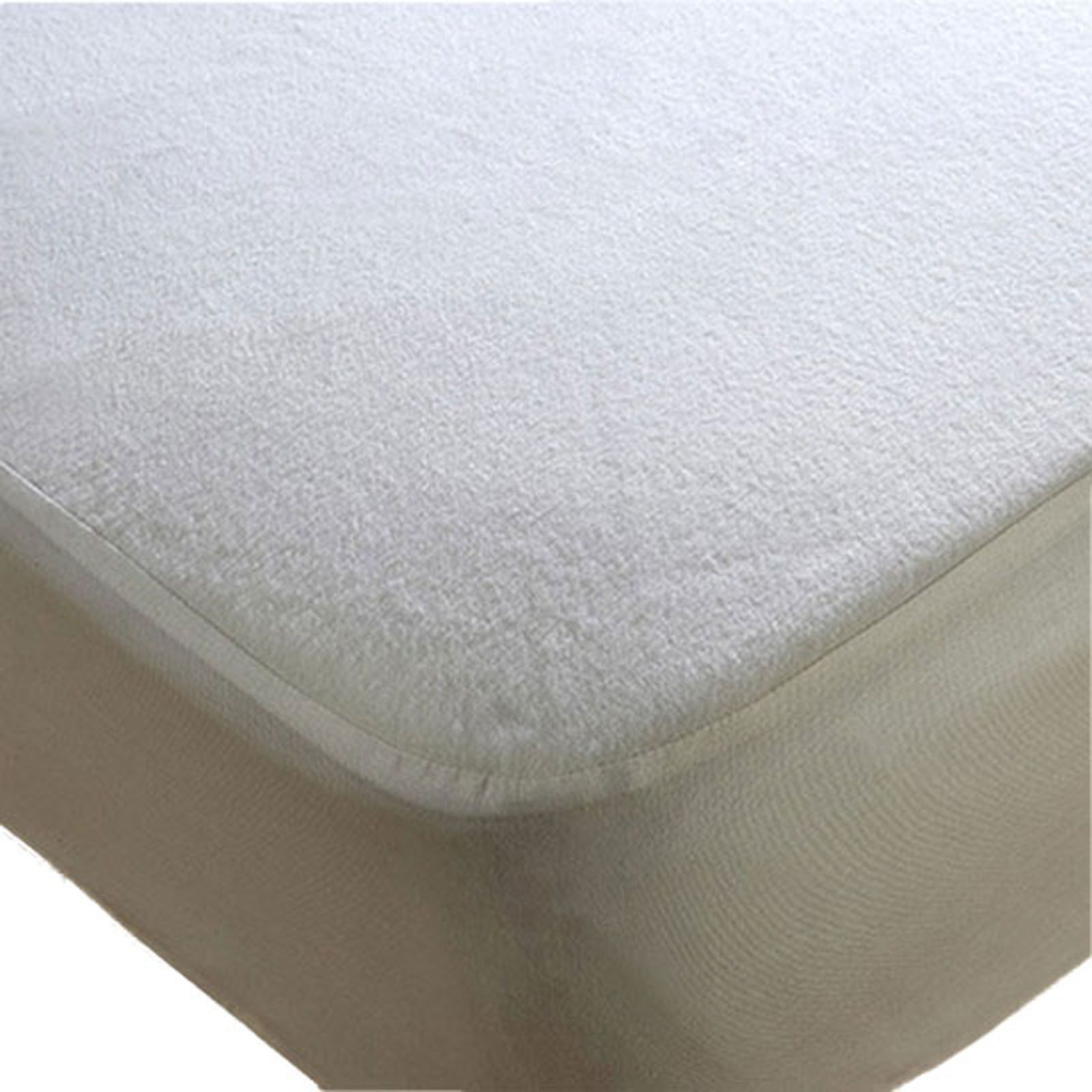 High Quality Terry Towel Waterproof Fitted Sheet Mattress Protector Cot Bed 70 x 140