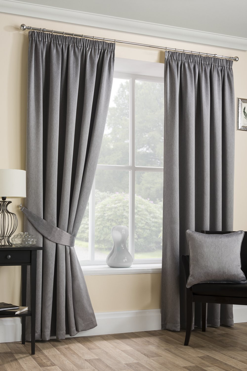 shop blue stag with organza satin waves white sheer curtains
