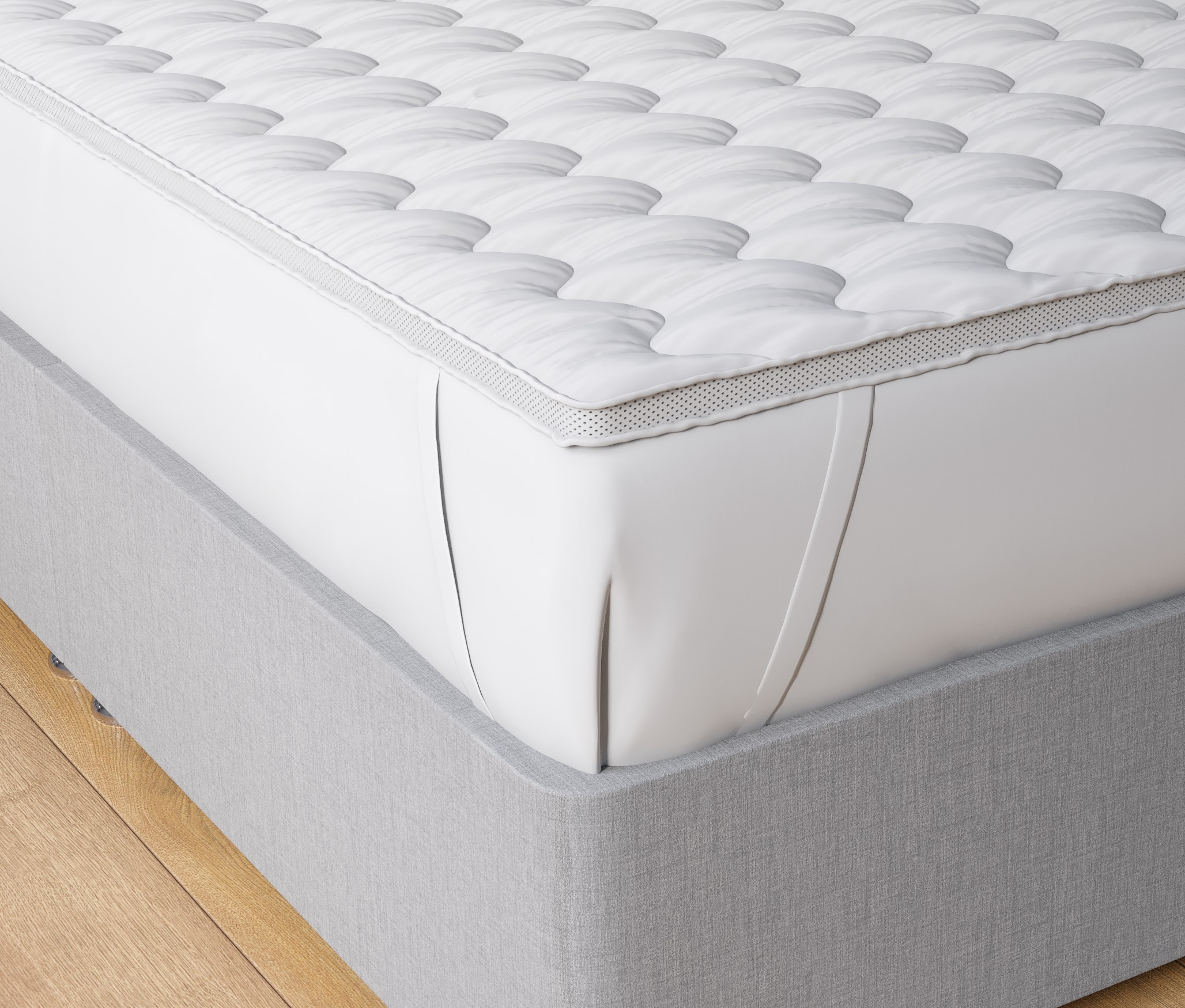 Luxury Microfiber Mattress Topper Ultra Soft Top Hotel