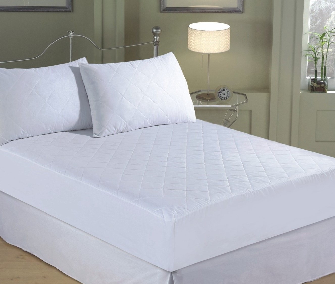 """EXTRA DEEP QUILTED MATTRESS PROTECTOR 12/"""" FITTED BED COVER ALL SIZES"""