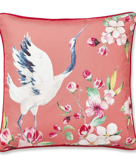 Catherine Lansfield Heron Cushion Cover Coral, 43x43cm