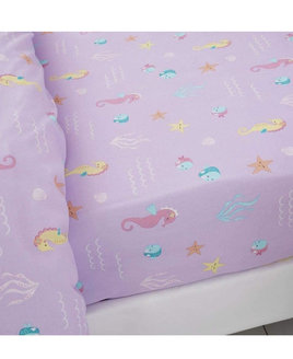 Catherine Lansfield Lets be Mermaids Fitted Sheet