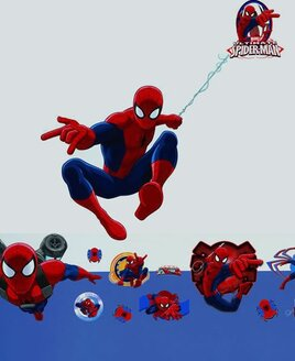23 Spiderman Wall Stickers