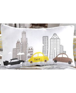 New York Yellow Taxi Cushion