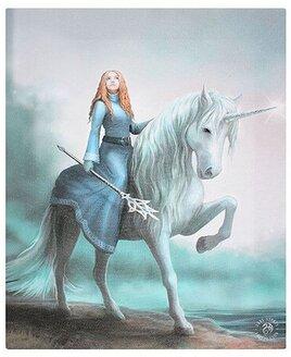 Journey Starts, Unicorn Canvas Art