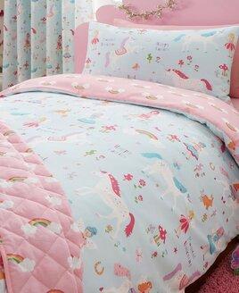 Unicorn Pony Bedroom Including Bedding Curtains Rugs Lighting