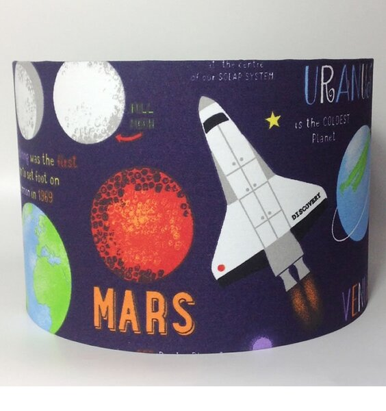 Planets, Large Fabric Light Shade