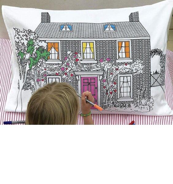 Doodle Home Decorator Pillowcase - 100% Cotton
