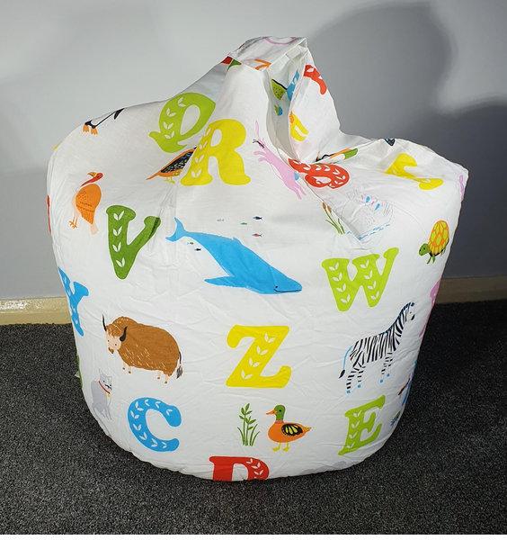 ABC, Alphabet Animals Toddler Bean Bag