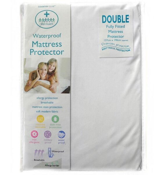 Double Bed Sized Mattress Protector