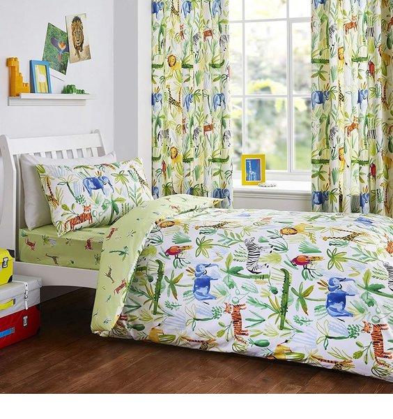 Jungle, Safari Single Bedding