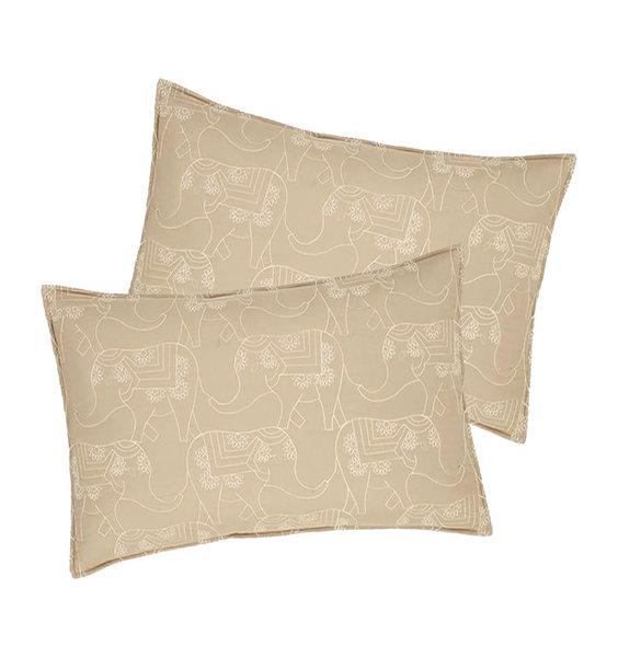 Catherine Lansfield Elephant Easy Care Pillowshams