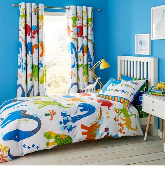 Disney Mickey Mouse Jigsaw Double Full Bed Quilt Duvet Cover Set REVERSE PRINT