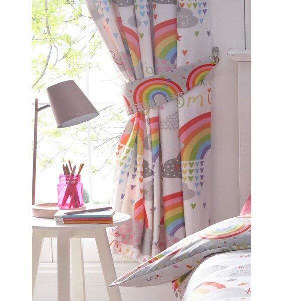 Clouds and Rainbows Curtains 72s