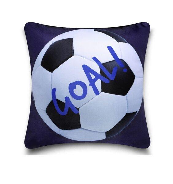Blue Football Cushion Cover