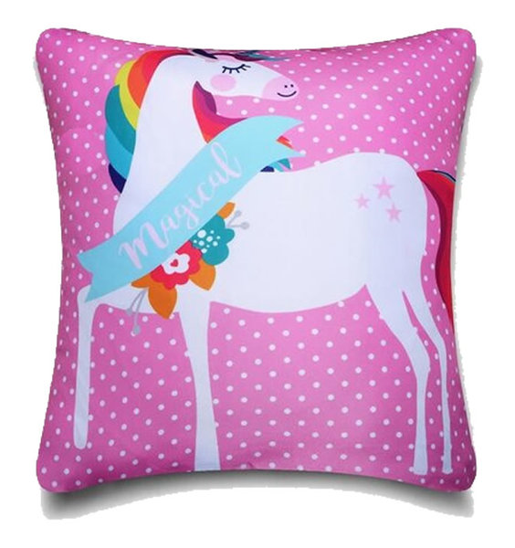 Unicorn Fairytale Cushion Cover