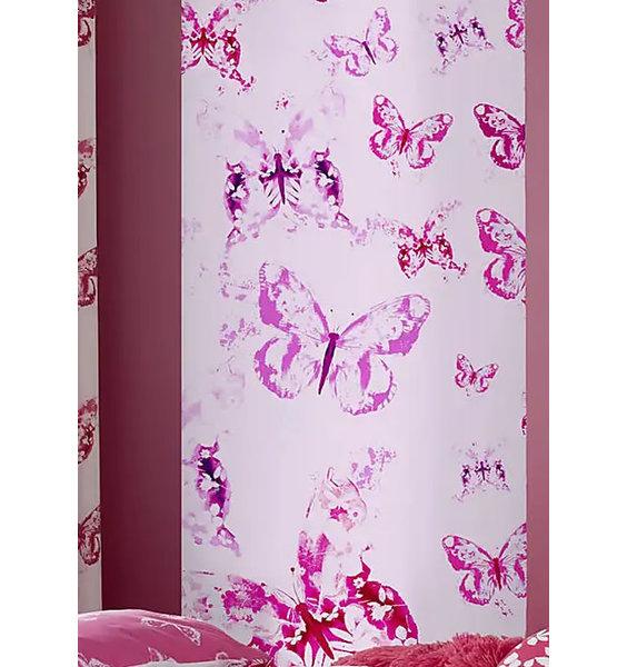 Catherine Lansfield Butterflies Wall Mural - 158 x 232 cm
