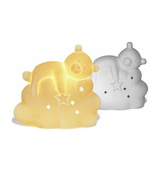 Sleep Teddy, Toddlers Night Light, 3D Ceramci