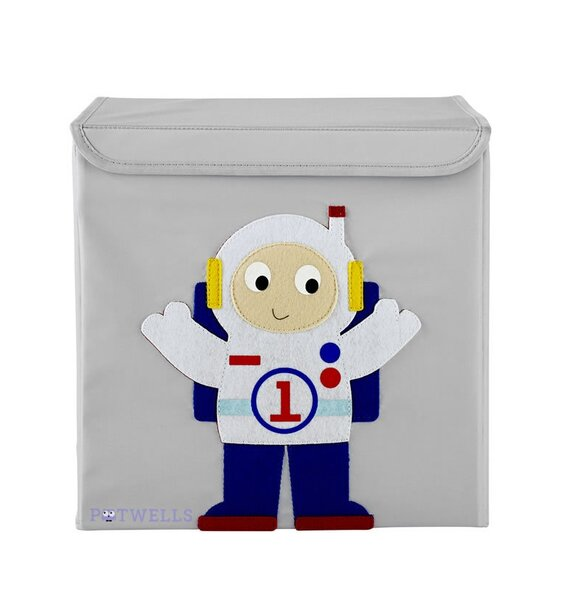 Space Astronaut Storage Box