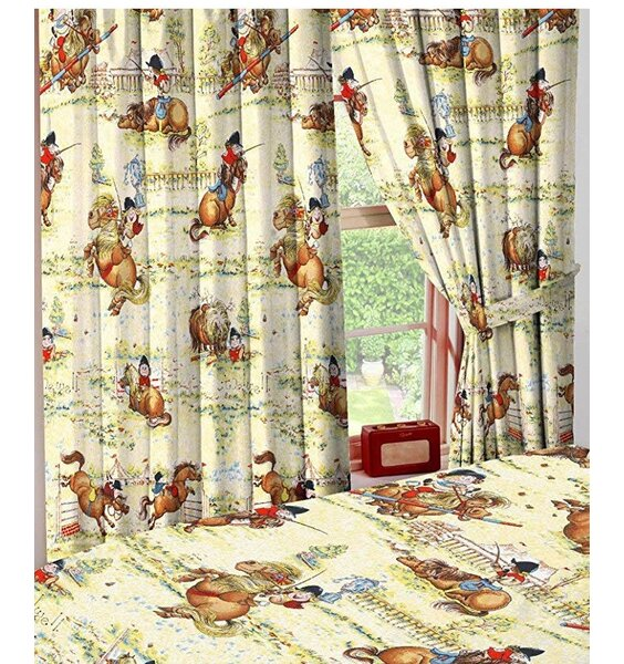 Thelwell Horse Curtains - Trophy 54s