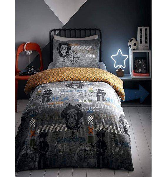Gamer Glow in the Dark King Size Bedding