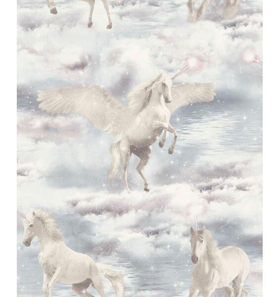 Arthouse Unicorn Kingdom Wallpaper Girl S Glitter Wallpaper