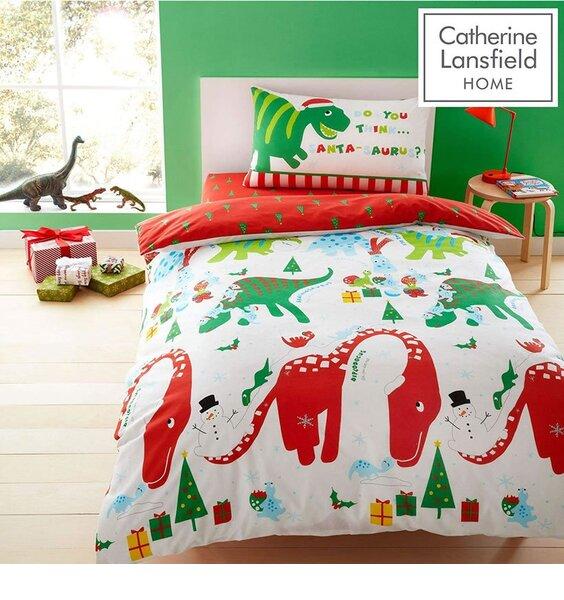 Kids Duvet Covers Green Roarsome Dinosaurs Childrens Quilt Cover Bedding Sets
