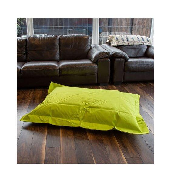 Green bean bag lounger