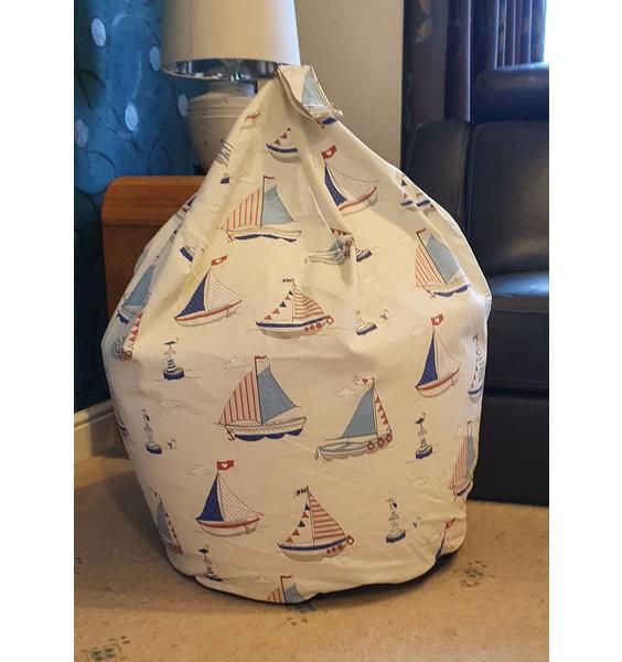 Sailing Boats Bean Bag