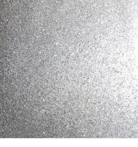 Sequin Sparkle Wallpaper - Silver