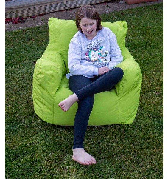 Large green waterproof bean chair