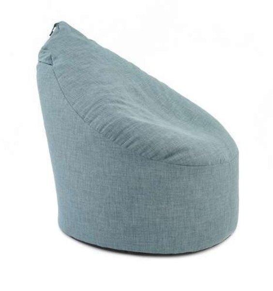 XL Blue Bean Chair Adult Size Lounger