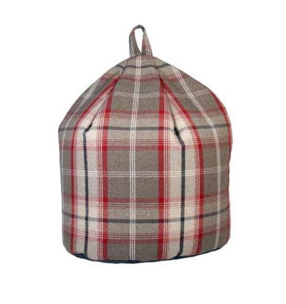 Gingham Bean Bag