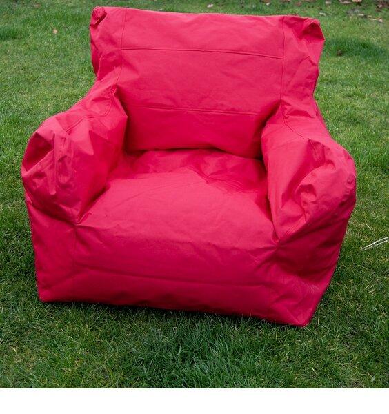 Large pink waterproof bean chair