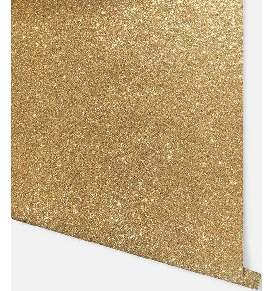 Sequin Sparkle Wallpaper - Gold