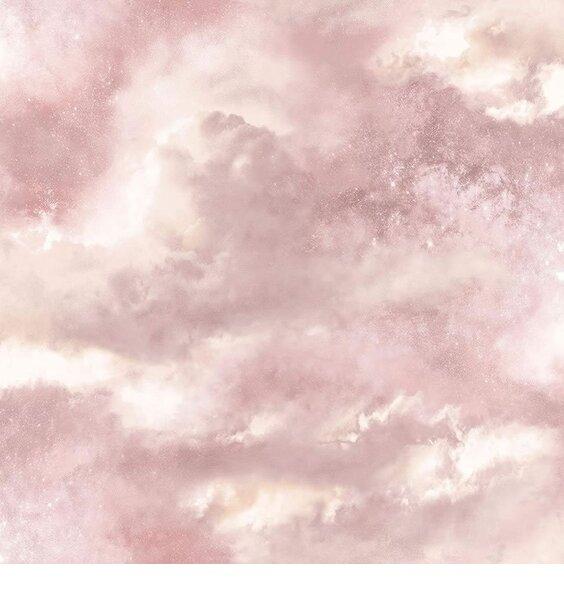 Arthouse, Diamond Galaxy Blush Wallpaper - Pink