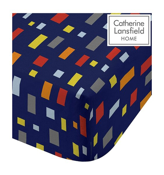 Catherine Lansfield Construction Fitted Sheet