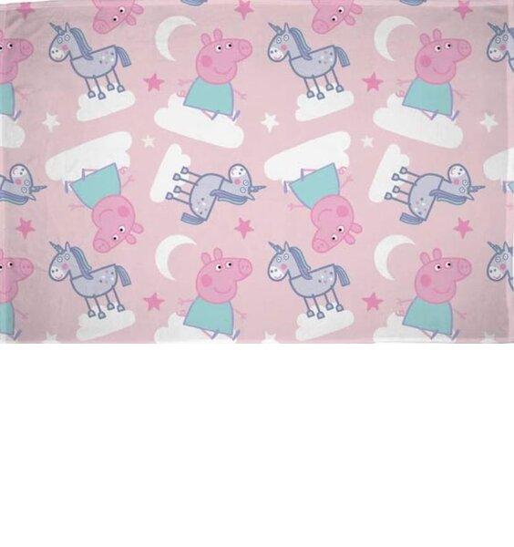 Peppa Pig and Unicorns Fleece Blanket - Stardust