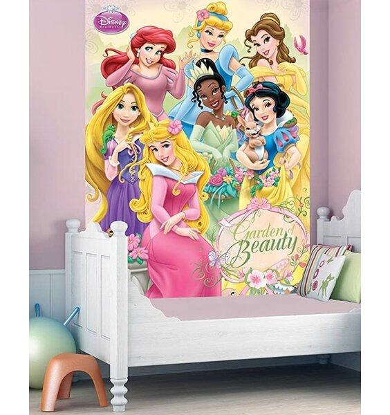 Disney Princess Wall Mural - 158 x 232 cm