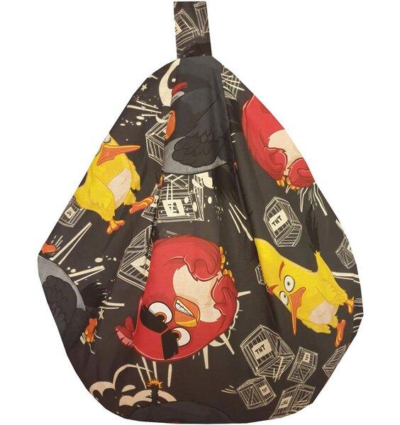 Angry Birds TNT Bean Bag - Black
