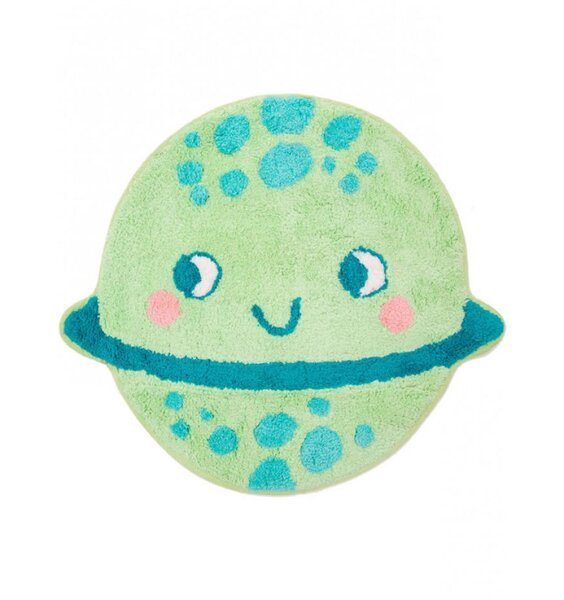 Planet Shaped, Space Rug  61 x 53 cm
