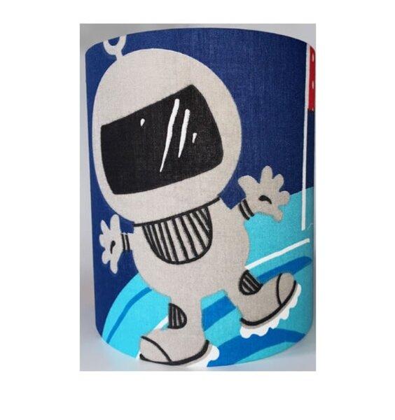 Spaceman Medium Fabric Light Shade