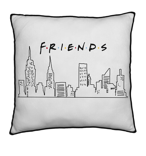 Friends Square Cushion - Scene