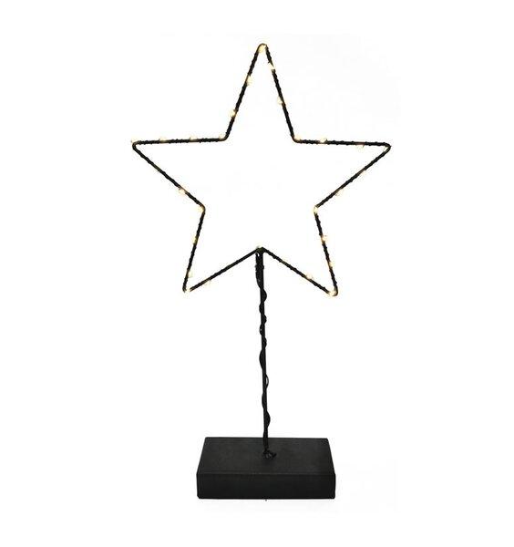 LED Standing Star - Black