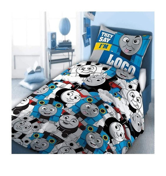 Fun, Comical Thomas The Tank Engine, Smiling, Laughing and Sticking His Tongue Out.