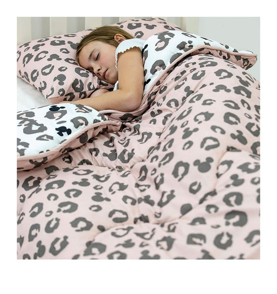 Micky Mouse Coverless Quilt - 10.5tog - Leopard
