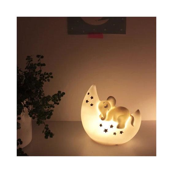 Elephant LED Night light - Sleepy Elephant