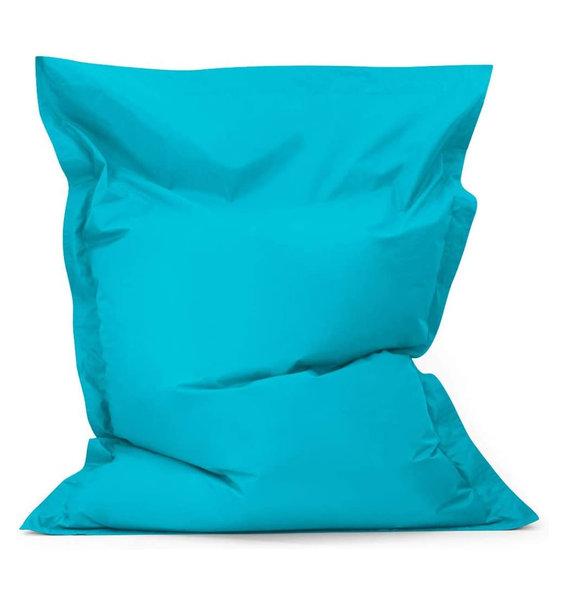 Blue, Waterproof, Large Bean Bag Lounger, Floor Cushion - 140 x 100 cms