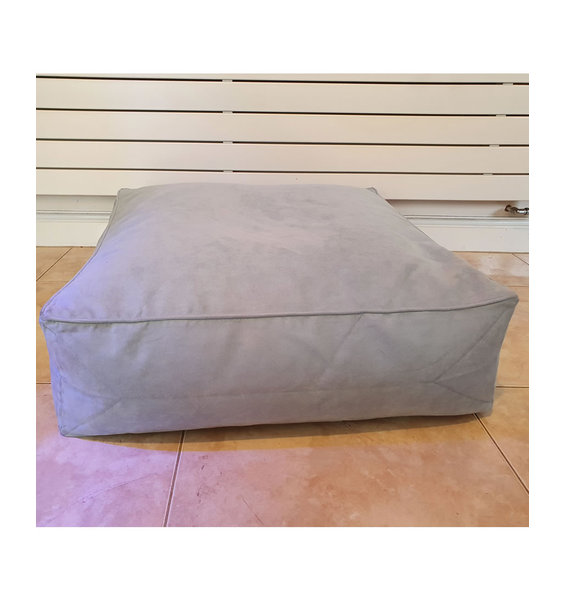 Pale Blue, Faux Suede Large Floor Bean Bag-Cushion